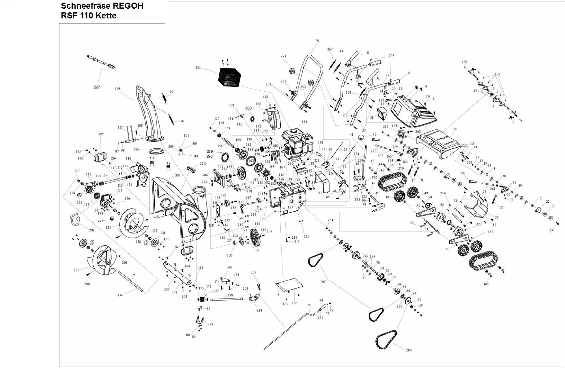 Wunderbar Explosionsansicht Briggs Und Straton Motoren Galerie ...