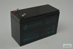Batterie Gel Batterie HR9-12 AGM Bleiakku Flachanschlüsse