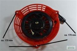Seilzugstarter Handstarter Honda GCV135 Rot