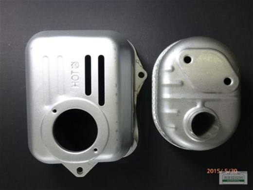 Auspuff Auspufftopf Schalldämpfer kplt. Honda GX100