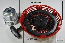 Seilzugstarter Handstarter Honda GX340 runde Stahlklinke + Cup