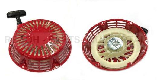 Seilzugstarter Handstarter passend Honda GX340 Flache Stahlklinke + CUP