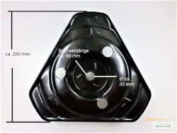 Schleuderrad Schneeschleuder passend Schneefräse 9-11 PS Kettenantrieb