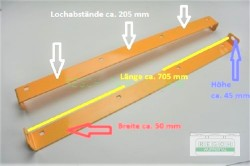 Schürfleiste Gleitschiene Schneefräse 9-11 PS...