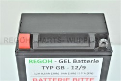 REGOH Gel Batterie passend Schneefräse Güde...