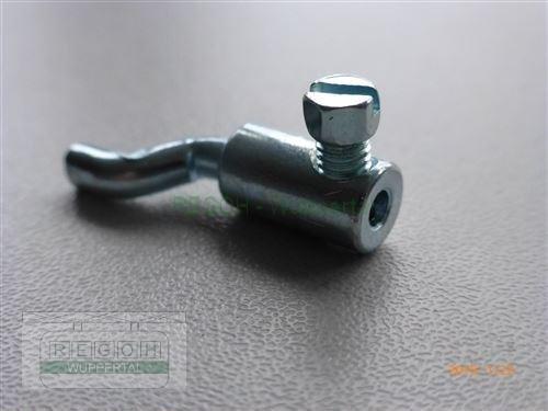 Seilanschlußklemme gebogener Seilanschluß Z-Haken