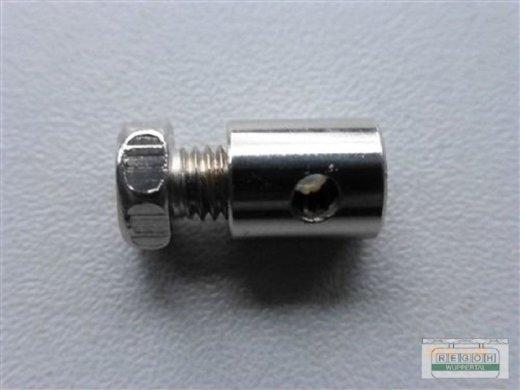Seilanschlußklemme Seilanschluß Bowdenzugklemme Schraubklemme 6x9