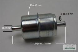 Feinfilter Vorfilter Dieselfilter Benzinfilter Metall...