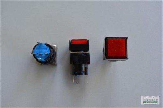 Soken Drucktaster mit Kontrolle 18x18 mm 5A-250VAC