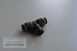 Pneumatik Schlauchverbinder T-Stück 6-6 mm...
