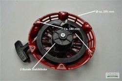 Seilzugstarter Handstarter passend Honda GX240 runde Stahlklinke