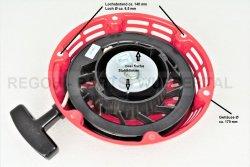 Seilzugstarter Handstarter passend Honda GX200 Flache Stahlklinke + Cup