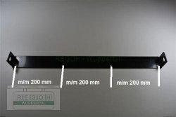 Schürfleiste Versteifungswinkel 640 mm AL-KO Fräsgehäuse