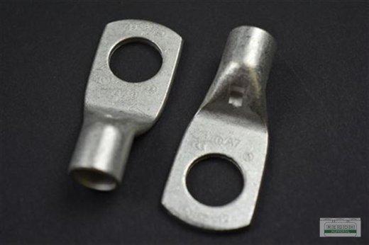 5 Stück Rohrkabelschuh Ringkabelschuh Kabelschuh M12/35 mm²