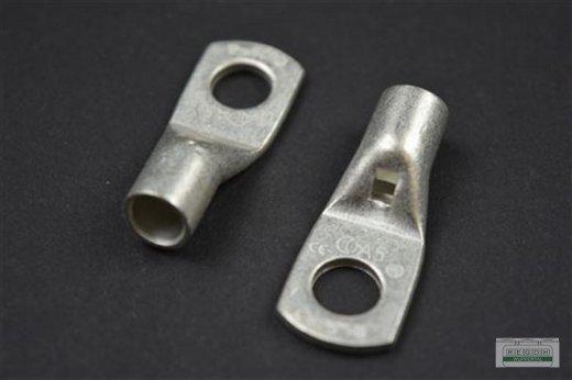 5 Stück Rohrkabelschuh Ringkabelschuh Kabelschuh M8/25 mm²