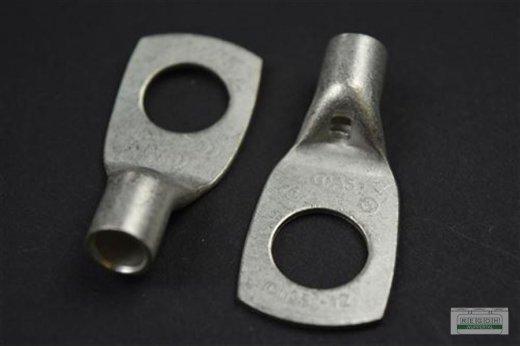 5 Stück Rohrkabelschuh Ringkabelschuh Kabelschuh M12/25 mm²