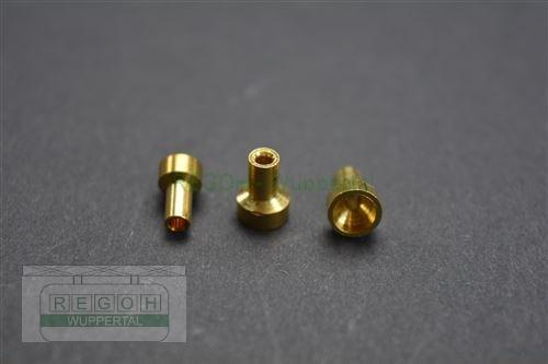 Seilanschlußklemme Seilanschluß Lötnippel Bowdenzugklemme Flachkopf 5x1,8x8