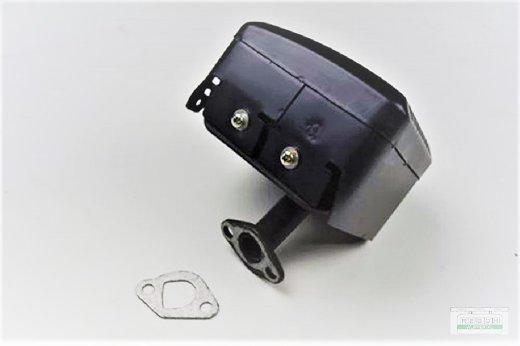 Auspufftopf Schalldämpfer passend Loncin LC168 F1 mit Dichtung