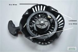 Seilzugstarter Handstarter passend Loncin LC-165 FDS Runde Klinke