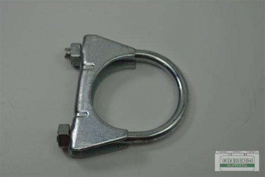 Klemmschelle Auspuffklemme Rohrschelle Spannring 45 mm