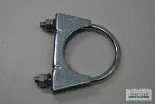 Klemmschelle Auspuffklemme Rohrschelle Spannring 54 mm