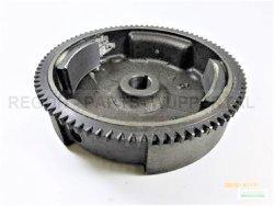 Schwungrad Schwungscheibe passend Loncin LC168 F1/ F2 2 Polig und Zahnkranz