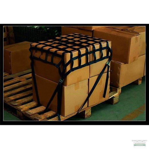Gurtbandnetz Ladungssicherungsnetz 0,9x0,9 mtr.