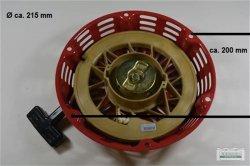 Seilzugstarter Handstarter passend Loncin G340 Flache Stahlklinke Oh. Cup