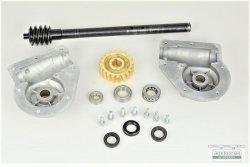 Winkelgetriebe Kplt. für Fräsantrieb passend Schneefräse Kette 9-11 PS