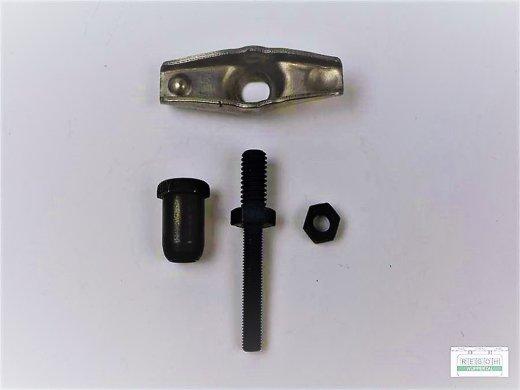 Kipphebel, EV, AV, komplett, passend Loncin G340 F, G340 F/D