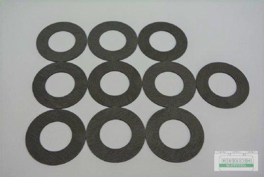 10 Stück Reibscheibe passend Sabo Rasenmäher SA31609, SA3161