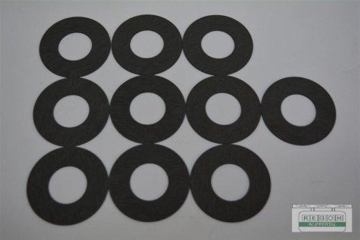 10 Stück Reibscheibe passend John Deere Rasenmäher SAA11144, SA11144