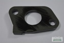 Stutzen Flansch Zwischenstück passend Loncin LC1P61 FA