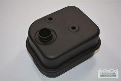 Schalldämpfer Auspuff passend Loncin LC1P68 FA