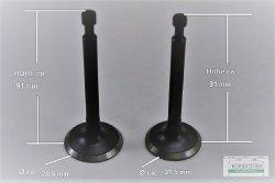 Ventilsatz Einlassventil Auslassventil passend Robin EY28