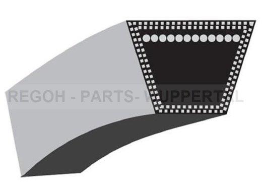 Keilriemen Mähwerksriemen passend MTD 754-04069 verstärkte Ausführung