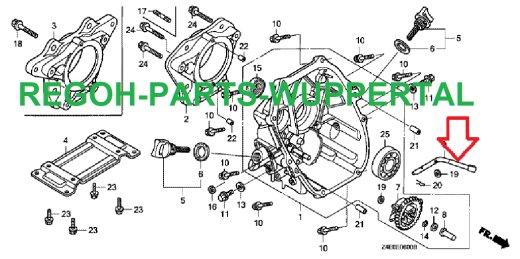 Hebel für Drehzahlbegrenzer passend Honda GX100