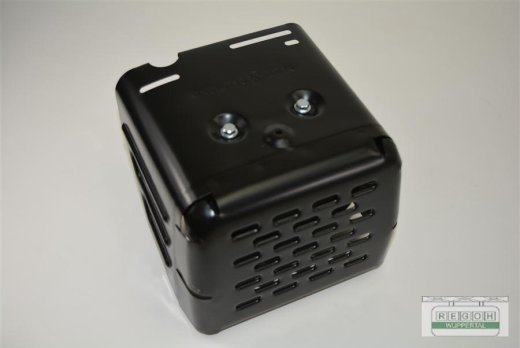 Auspuff kplt. inkl. Hitzeschutz passend Lumag RP160 HP, HPC