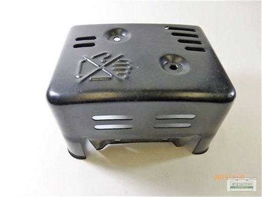 Hitzeschutz Auspuffschutz passend Lumag KM800