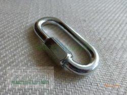 8 mm Kettennotglied Kettenglied Notglied verzinkt
