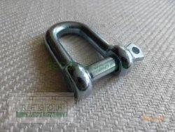 10 mm Schäkel verzinkt Tragfähigkeit 320 KG