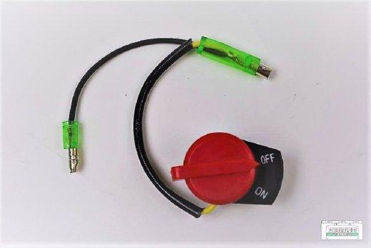 Stopschalter Ein/Aus Schalter zwei Kabel passend Loncin G340 F, G340 F/D