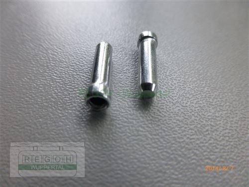 10 Stück Endkappe für Seilzüge 1,5-1,8 mm