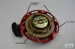 Seilzugstarter Handstarter passend Honda GX100 Flache Klinke OHNE Cup