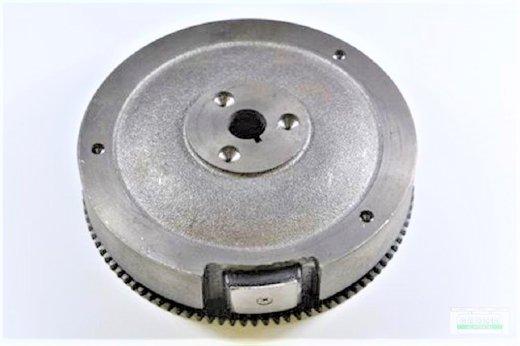 Schwungrad Schwungscheibe passend Loncin G420 F/D 2 Polig und Zahnkranz