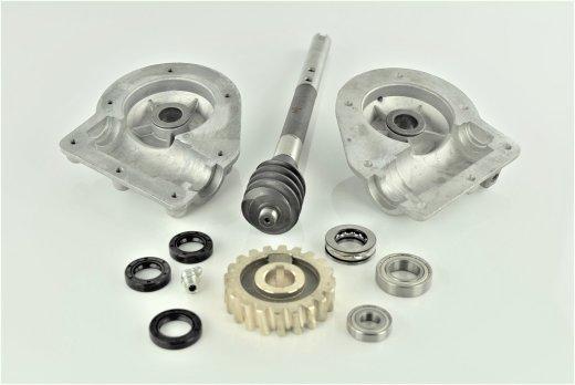 Winkelgetriebe Reparatur Satz für Fräsantrieb passend Schneefräse Kette 9-11 PS