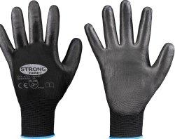 stronghand® Nylon-Feinstrickhandschuhe LINGBI schwarz