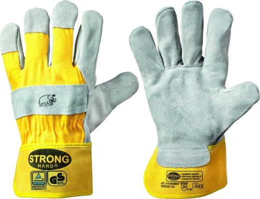 stronghand® Rindspaltleder Arbeitshandschuhe MAMMUT 10 (XL)