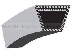 Keilriemensatz passend Lumag Rambo-HC15