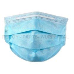 50 Stück Mund und Nasenschutz Maske, Atemschutz 3-Lagig mit Filter und Ohrschlaufen
